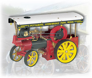 Wilesco 00419 Dampftraktor D 419 D419 Showman's Engine -Bausatz-