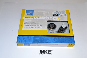 ESU LokSound mfx M4 Digitaldecoder inkl. Sound