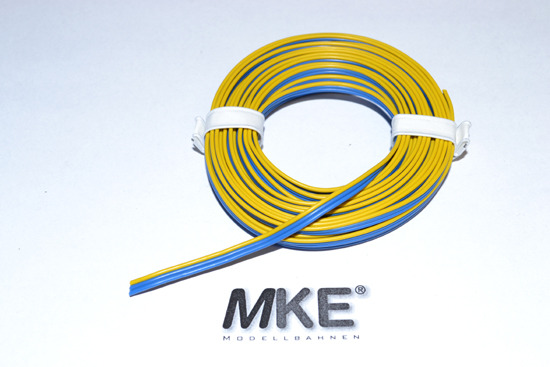 digital zubeh r m rklin tams verschiedene zub beli weichen kabel 3 adr blau blau gelb 5m. Black Bedroom Furniture Sets. Home Design Ideas