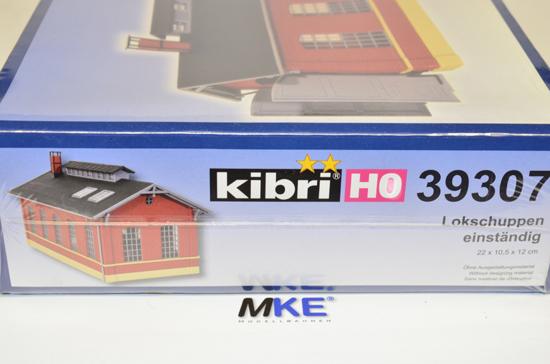 KIBRI 39307 h0 Lokschuppen einständig
